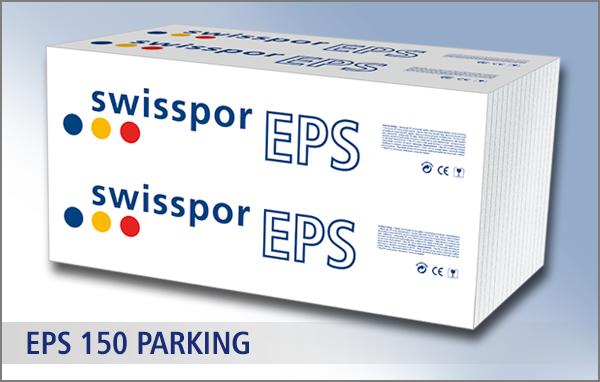 Swisspor styropian biały EPS 150 PARKING 035 - 4,5 t /m2