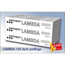 Swisspor styropian grafitowy Lambda 100 Podłoga 030 - EPS 100 3,0t / m2