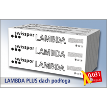 Swisspor styropian grafitowy Lambda Plus Podłoga 031 - EPS 60 1,8t / m2