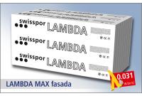 Swisspor styropian grafitowy Lambda Max Fasada 031